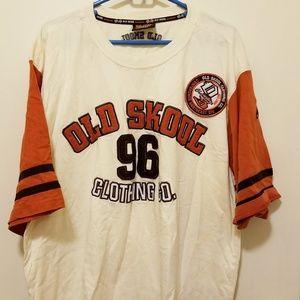 Vintage Old Skool 096 tshirt 100% cotton